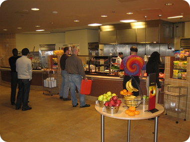Cafeteria can be a great source of income